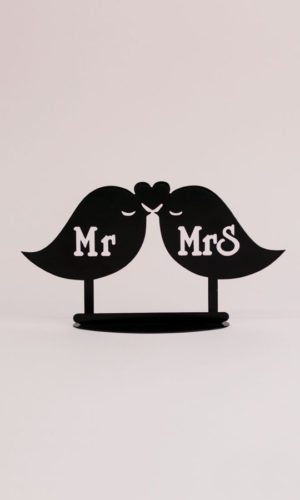Angá Shop | Figura Mr & Mrs Birds | Regalo para los novios, boda