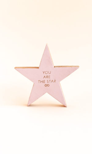 Angá Shop | Estrella You are the star | Decoración, regalo para amiga