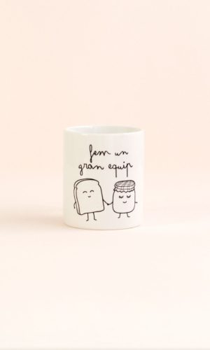 Angá Shop | Regalo para tu pareja | Taza Mr Wonderful - Fem un gran equip