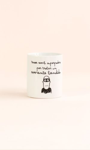 Angá Shop | Regalo para tu pareja | Taza Mr Wonderful - Per trobar un amante bandido